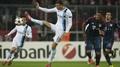 Dzeko double sends City into semi-final