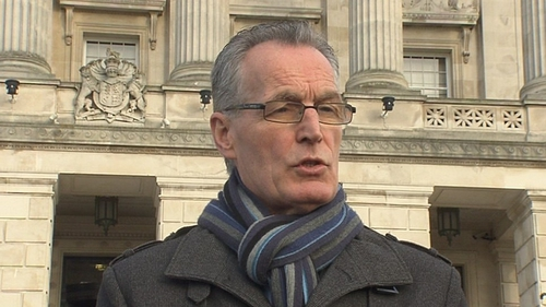 Sinn Féin said Gerry Kelly removed the clamp from the front wheel of his car