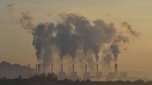 How many premature deaths result from air pollution in Ireland?