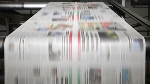 Jonston Press has reported a 7% fall in total underlying revenue for the past year