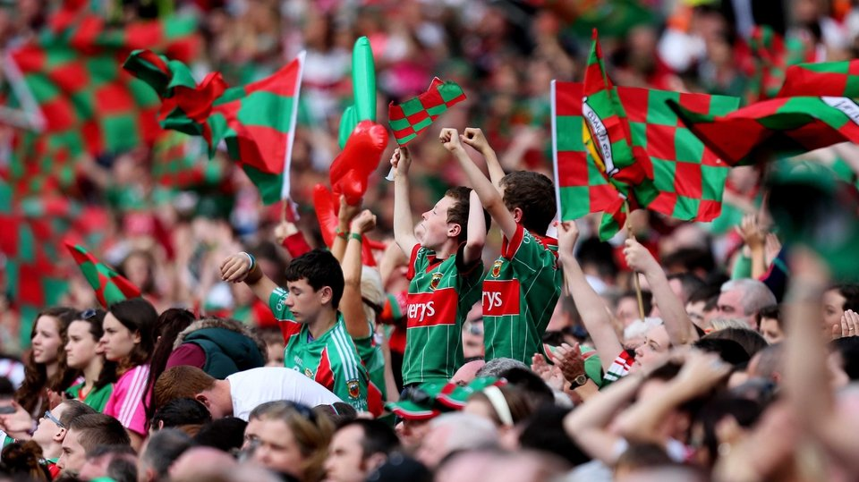 In August, Mayo fans were celebrating as their side beat Tyrone at Croke Park