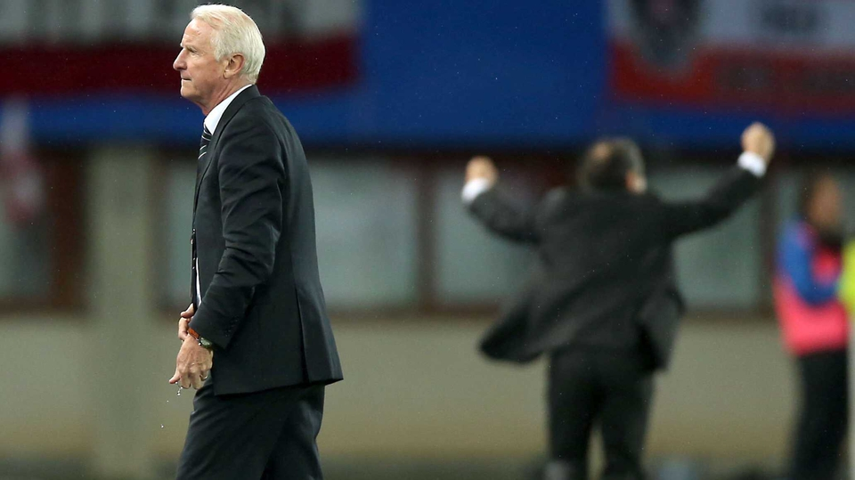 A late goal for Austria saw Giovanni Trapattoni's reign as Ireland boss come to an end
