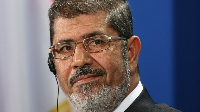 Mohammed Mursi was deposed by the army in July