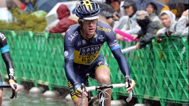 Michael Rogers has been provisionally suspended after failing a doping test