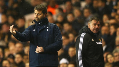 Tim Sherwood wants to see his side bounce back from two consecutive defeats