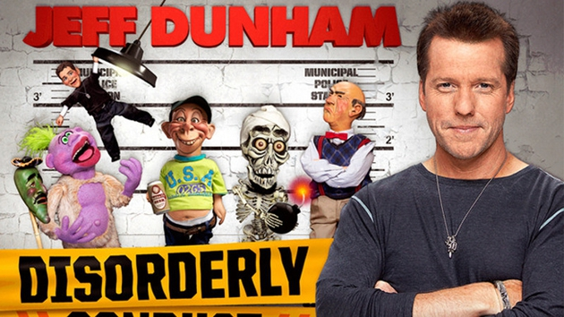 Jeff Dunham plays Dublin's o2 in April