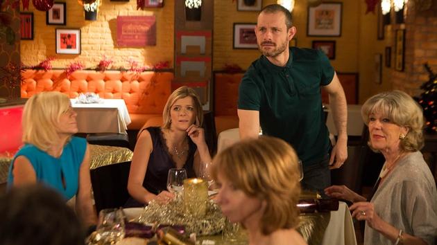 An outburst from Nick ruins the Platt's Christmas dinner