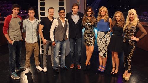 Bernard O'Shea and the cast of My Best Shot