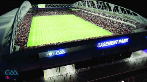 Casement Park will see its present capacity increase from 32,500 to 38,000 when the redevelopment has been completed