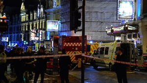 London Fire Brigade and London Ambulance Service attended the scene