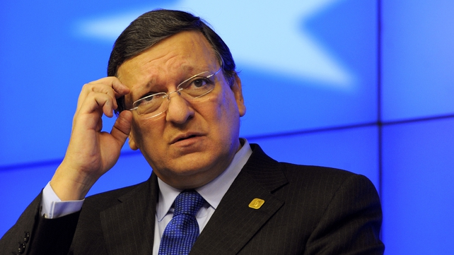 José Manuel Barroso said the Irish banking sector caused one of the biggest problems in the world