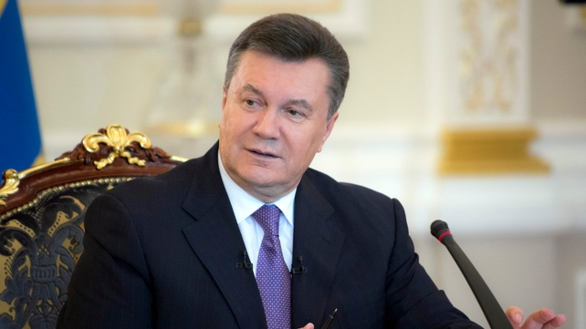 Viktor Yanukovych fled to the Russian-speaking east following dozens of deaths during street protests aimed at toppling him