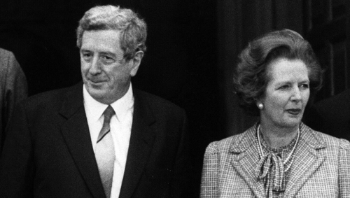 The files from 1984 show the communication between Garret FitzGerald and Margaret Thatcher