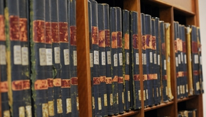 Far fewer files were transferred to the National Archives this year due to a lack of storage space