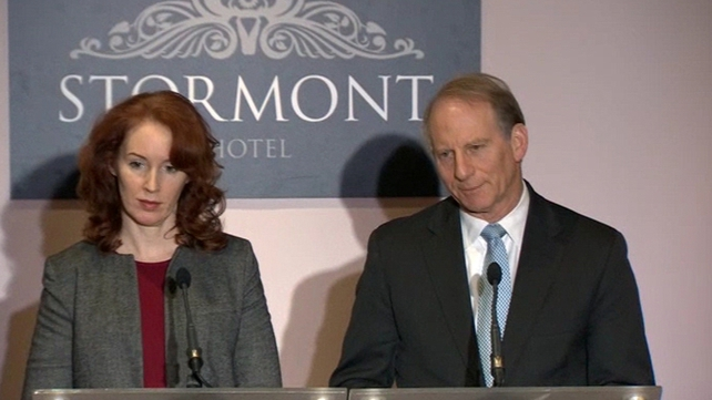 Dr Richard Haass and Professor Megan O'Sullivan expect a period of intense meetings