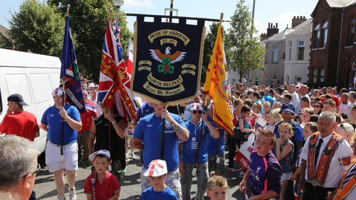 Orange Order parades are one of the key areas up for discussion