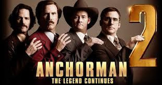 Alan Corr on Anchorman