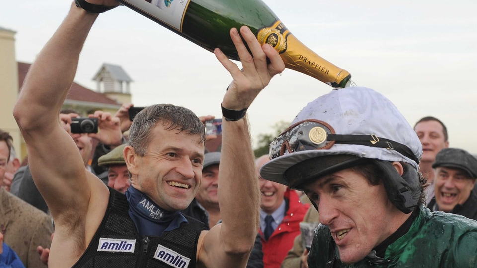 Tony McCoy rode his 4,000th career winner at Towcester