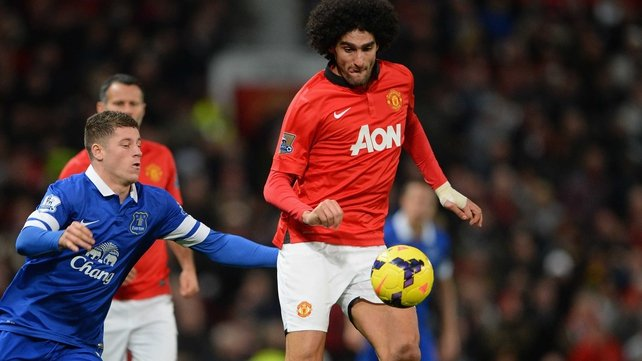Marouane Fellaini is starting to repay his transfer fee according to David Moyes