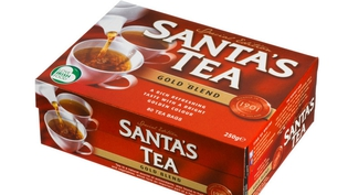 Santa loves tea too!