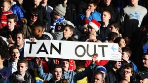 Cardiff fans had a message for the owner