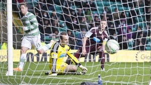 Kris Commons scored the opener for Celtic in the 63rd minute