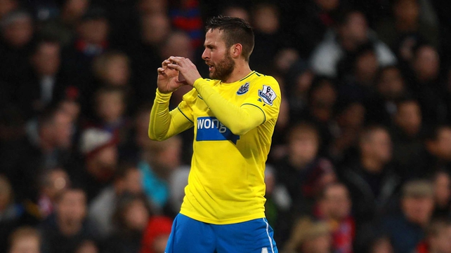 Yohan Cabaye wasn't feeling the love for Newcastle once PSG came calling