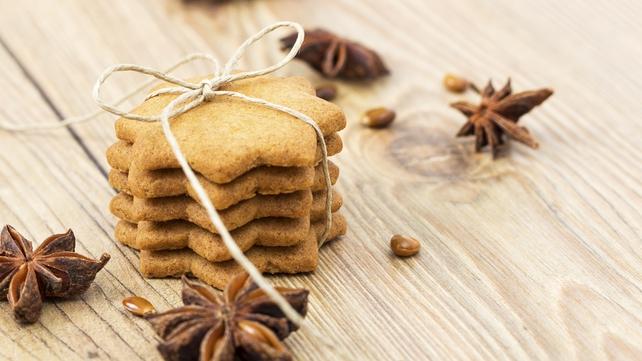 Crisp Gingerbread Biscuits
