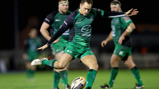 Dan Parks joined Connacht in 2012