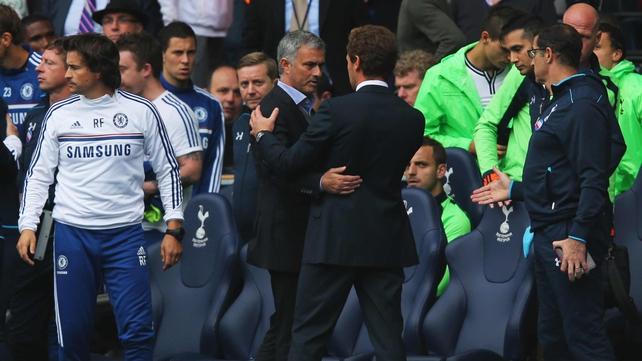 Jose Mourinho has given support to his compatriot Andre Villas-Boas