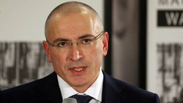 Mikhail Khodorkovsky flew to Berlin after his release from a prison near the Arctic Circle yesterday