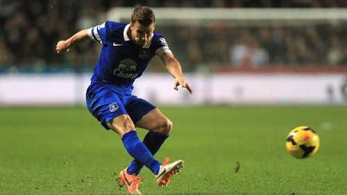 Seamus Coleman signed a new five-year-contract with Everton last month
