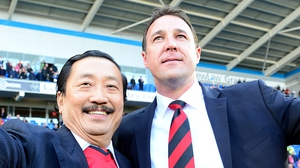 Cardiff chairman Vincent Tan had called on Malky Mackay to resign or be sacked