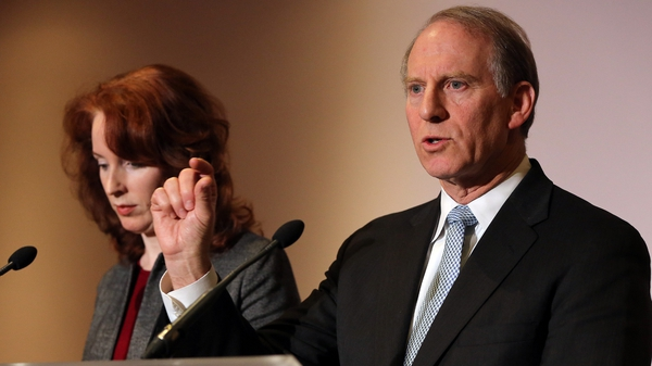 Richard Haass and his colleague Meghan O'Sullivan are working to find a solution to contentious issues in Northern Ireland