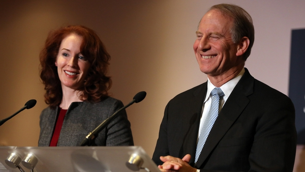 Meghan O'Sullivan and Richard Haass ailed in their attempts to reach all-party agreement