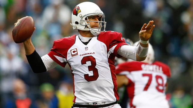 Carson Palmer gave up four inteceptions but the Cardinals still ground out a win