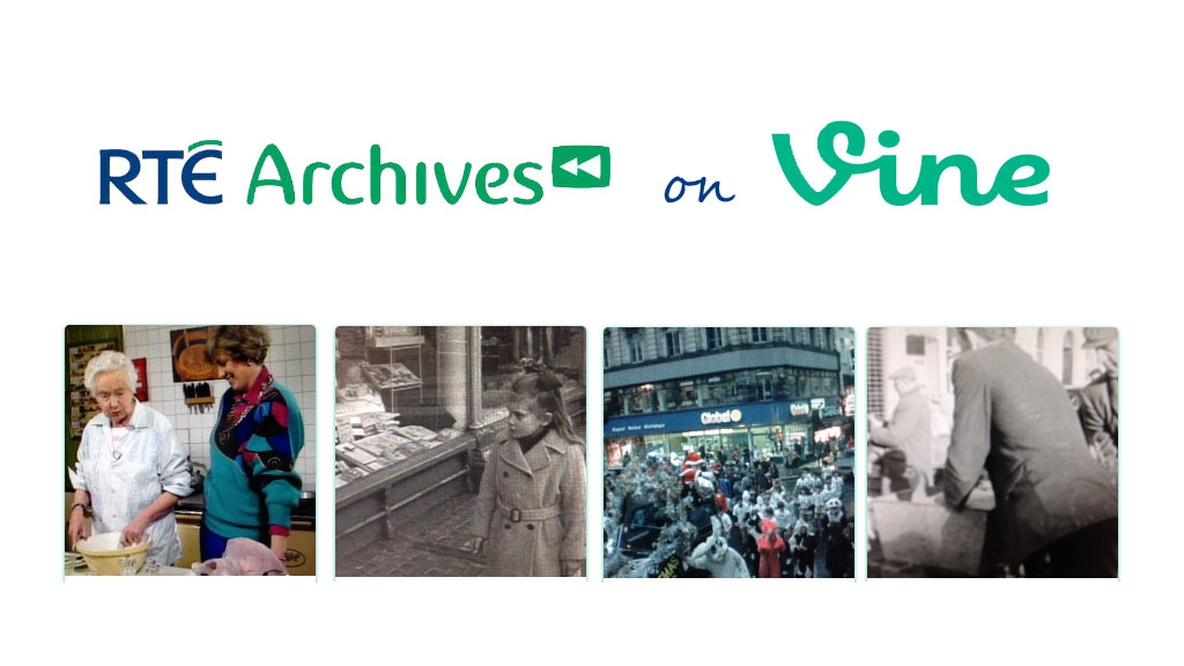RTÉ Archives Festive Vines