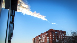 A meteorite caused extensive damage to property in the Russian town of Chelyabinsk in 2013