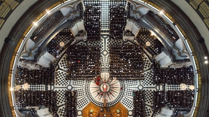 The funeral of former British prime minister Margaret Thatcher took place in St Paul's Cathedral in central London in April