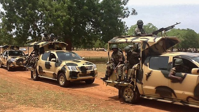 Nigerian forces have stepped up an offensive against Boko Haram