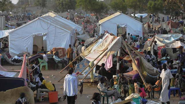 South Sudanese continue to flock to the UN compound at Juba as fears of a resumption of fighting in the capital fester