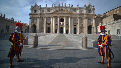 The 14 condoms filled with cocaine was sent to Vatican