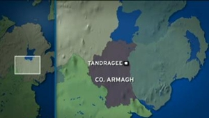 The plane crash landed at an airstrip near Tandragee