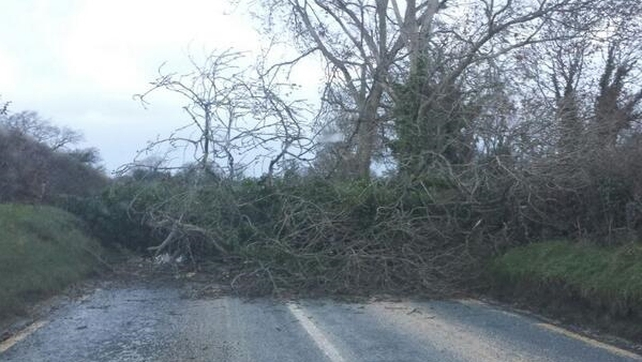 Ballymore Road between Punchestown and Naas, Co Kildare (pic: @rosebecca)