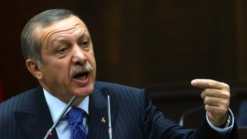 Tayyip Erdogan is under mounting pressure in aftermath of a graft scandal