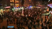 Protestors in Turkey demonstrate against corruption scandal