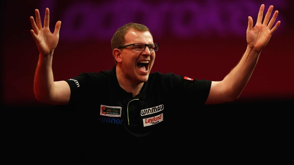 Mark Webster was a surprise winner on Friday night at the Alexandra Palace