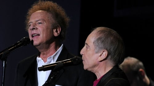 Simon and Garfunkel performing together in 2010