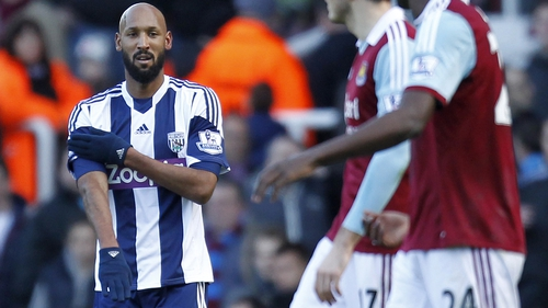 "The FA found Anelka guilty of an ""aggravated breach"" of anti-discrimination rules by performing the gesture"