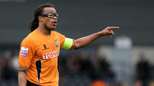 Edgar Davids is player-manager with Barnet